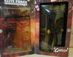 "BBi 12"" 1/6 Elite Force Terminate Carlos Collectible Action Figure Used - Lavits Figure  - 2"