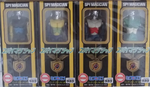 Takara Replica Microman Series Spy Magician M141 Henry M142 Hudson M143 Holms M144 Howard Action Figure Set - Lavits Figure