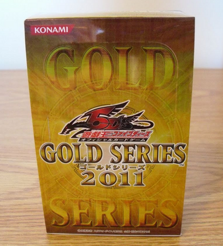 Konami 2011 Yu Gi Oh 5DS Gold Series Trading Card Play Game Sealed Box Set - Lavits Figure