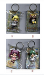 Sega Di Gi Charat 4 Mini Mascot Strap Key Chain Holder Collection Figure Set - Lavits Figure