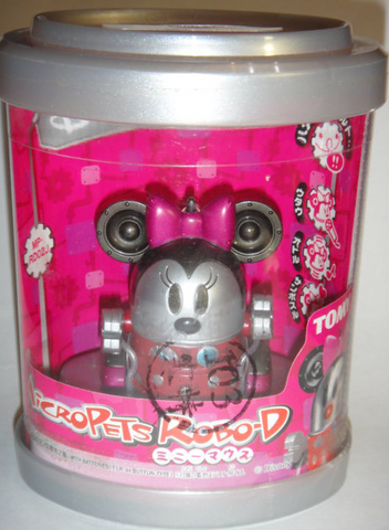 Tomy Micropets My Little Pet Electronic Interactive Toy Robo-D Minnie Mouse Trading Figure - Lavits Figure