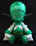 "One-Up 2009 Kaijin Fulcraim Memory of Forest Green Ver 8"" Vinyl Figure - Lavits Figure"