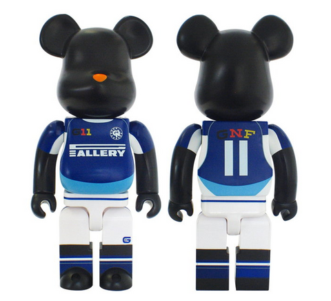 "Medicom Toy 2006 Be@rbrick 400% GNF Design Gallery 1950 Ver 11"" Vinyl Collection Figure - Lavits Figure"