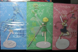 "Clamp Magic Knight Rayearth Nostargia Girl 3 8"" Pvc Collection Figure Set - Lavits Figure  - 2"