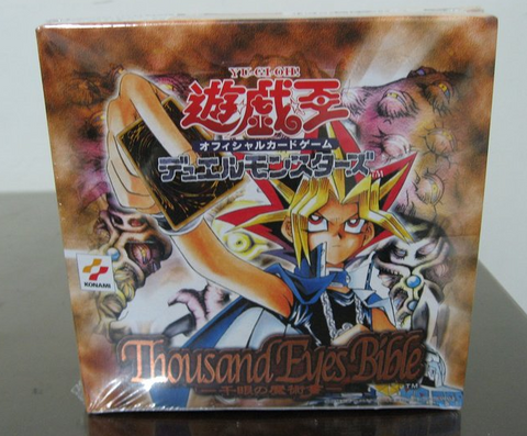 Konami Yu Gi Oh Booster Box Thousand Eyes Bible Trading Card Game Sealed Box Set - Lavits Figure