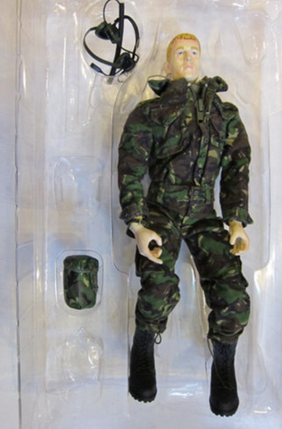 "BBi 12"" 1/6 British Royal Marine MNE Allen Action Figure Used - Lavits Figure  - 1"