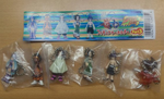 Tomy Shaman King Gashapon Part 3 5 Mini Swing Strap Collection Figure Set - Lavits Figure