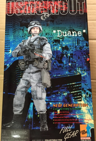 "Dragon 12"" 1/6 USMC MOUT Duane Action Figure"