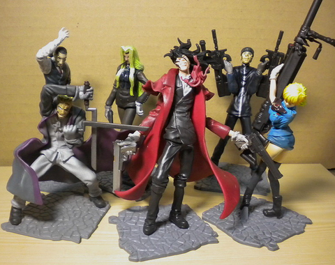 Yamato Hellsing SIF Story Image 6 Trading Collection Figure Set Used - Lavits Figure