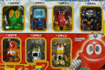 Bandai DX Robocon Robo 7 Trading Collection Figure Set - Lavits Figure  - 2