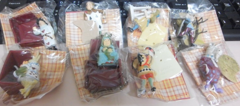 Furuta Alice In Wonderland Dollland 14 Trading Collection Figure Set - Lavits Figure  - 1