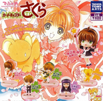 Takara Tomy Clamp Card Captor Sakura Gashapon Deforemed Figure Series 6 Mini Trading Figure Set - Lavits Figure