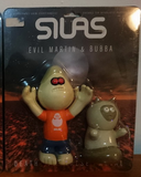 "Amos Toys 1999 James Jarvis Evil Martin & Bubba Orange Ver 5"" Vinyl Figure - Lavits Figure  - 2"
