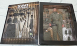 "BBi 12"" 1/6 Collectible Items Elite Force SWAT Team Sheriff Charles Chuck Morris Action Figure - Lavits Figure  - 2"