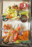 Takara Microman Toys R Us Exclusive Limited 2 Motocycle Action Figure Set - Lavits Figure  - 2