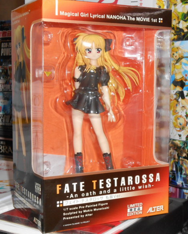 Alter 1/7 WF Limited Magical Girl Lyrical Nanoha The Movie 1st Fate Testarossa Pvc Collection Figure - Lavits Figure