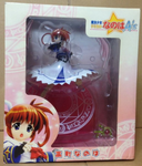 Movic Magical Girl Lyrical Nanoha A's Pvc Collection Figure Used - Lavits Figure