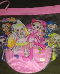 Japan Magical Ojamajo Do Re Mi Plastic Tote Bag Type C - Lavits Figure