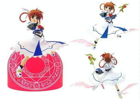 Movic Magical Girl Lyrical Nanoha A's Pvc Collection Figure - Lavits Figure