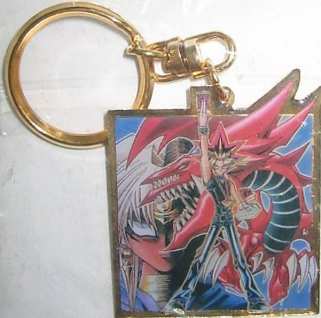 Japan Konami Yu Gi Oh Metal Key Chain Holder Strap Collection Figure - Lavits Figure