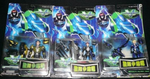 Trendmasters Voltron Galaxy Guard Stealth Mighty Lion Force 5 Action Figure Set - Lavits Figure  - 1