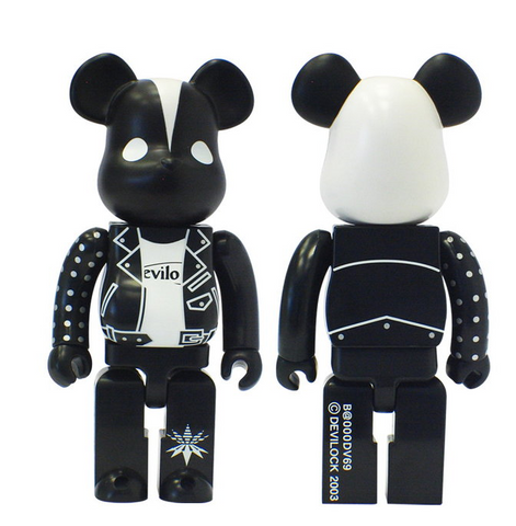 "Medicom Toy 2003 Be@rbrick 400% Devilock x Palm Store Ver 11"" Vinyl Collection Figure - Lavits Figure"