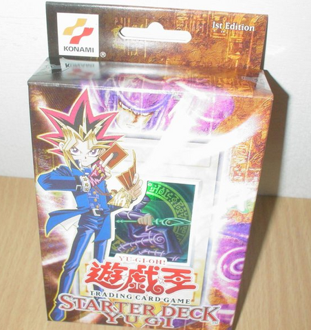 Konami Yu Gi Oh Structure Starter Deck Yugi Ver Trading Card Game Sealed Box Set - Lavits Figure