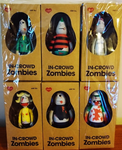 "Amos Toys 2005 James Jarvis In-Crowd Zombies 6 4"" Vinyl Figure Set - Lavits Figure"