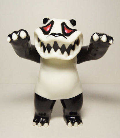 "TTToy 2008 Hariken Mad Panda on the Loose Black & White Ver 7"" Vinyl Figure - Lavits Figure"