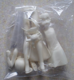 Kodansha 1/8 Love Hina Shinobu Sinobu Maehara Resin Cold Cast Model Kit Figure