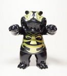 "TTToy Hariken Mad Panda Jhark Bone Black & Gold Ver 7"" Vinyl Figure - Lavits Figure"