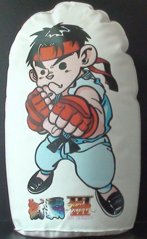 "Capcom Street Fighters 3 III Ken 9"" Inflatable Doll Trading Collection Figure Used - Lavits Figure  - 1"