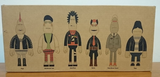 "Amos Toys 2004 James Jarvis In-Crowd Punk is not Dead 6 4"" Vinyl Figure Set - Lavits Figure  - 1"
