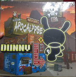 "Kidrobot 2013 Huck Gee Dunny Post Apocalypse Dunny Series 3"" Vinyl Figure Sealed Box - Lavits Figure  - 1"