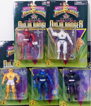 Bandai Power Rangers Ninja Sentai Kakuranger 5 Ranger Fighter Action Figure Set - Lavits Figure