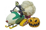 Groove Disney The Nightmare Before Christmas Jack Skellington 10th Anniversary Special Snowmobile N-365 Action Figure - Lavits Figure  - 1