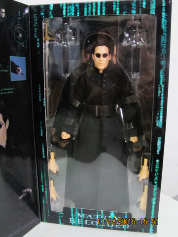 "Medicom Toys 1/6 12"" RAH Real Action Heroes Matrix Reloaded Neo Collection Figure - Lavits Figure"