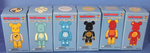 Medicom Toy 2002 Be@rbrick 100% ANI Nendo feat Tokyo Toy Lab 6 Collection Figure Set - Lavits Figure