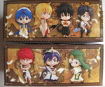 Grand Ani-Chara Heroes Magi The Labyrinth of Magic 7+1 Secret Petit Trading Figure Set - Lavits Figure  - 2