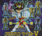 Bandai Saint Seiya Myth Gashapon Part V 5 5 Trading Collection Figure Set - Lavits Figure