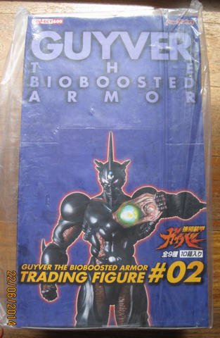 Max Factory Guyver Bio Fighter Wars Bioboosted Armor Part #02 Sealed Box 10 Trading Collection Figure Set - Lavits Figure  - 1