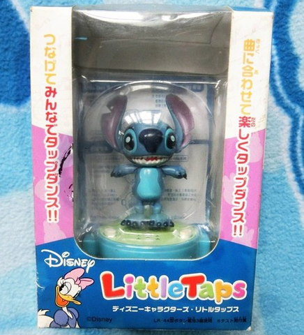 Tomy Disney Little Taps Musical Dancing Stitch Trading Collection Figure - Lavits Figure
