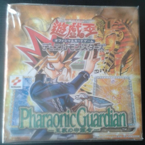 Konami Yu Gi Oh Booster Box Pharaonic Guardian Trading Card Game Sealed Box Set - Lavits Figure