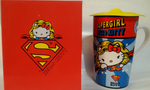 Sanrio Hello Kitty x Dc Comics x Caco Limited Supergirl Ver Mug Cup - Lavits Figure