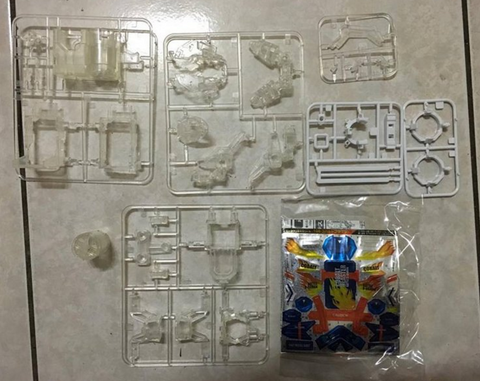 Takara Battle B-Daman Model Kit No 106 Cobalt Blaster Crystal Ver Plastic Model Kit Action Figure - Lavits Figure  - 1