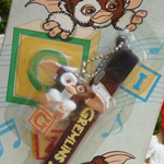 Warner Bros 2000 Gremlins 2 The New Batch Gizmo Cell Phone Strap Trading Figure - Lavits Figure  - 1