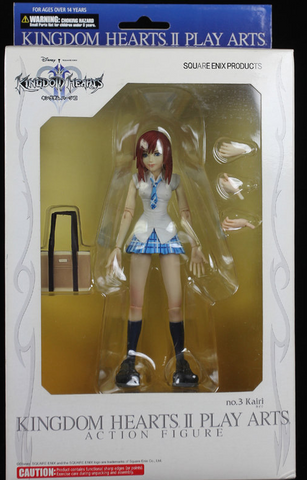 Square Enix Kingdom Hearts II Play Arts No 3 Kairi Action Figure - Lavits Figure