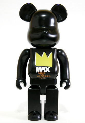 "Medicom Toy 2009 Be@rbrick 400% Where The Wild Things Are Ver 11"" Vinyl Collection Figure - Lavits Figure  - 1"
