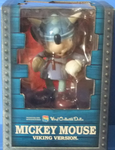 Medicom Toy VCD Vinyl Collectible Dolls Disney Mickey Mouse Viking Version Trading Collection Figure - Lavits Figure