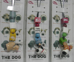 Bura Bura The Dog Artlist Collection Phone Strap Key Chain 3 Collection Figure Set - Lavits Figure